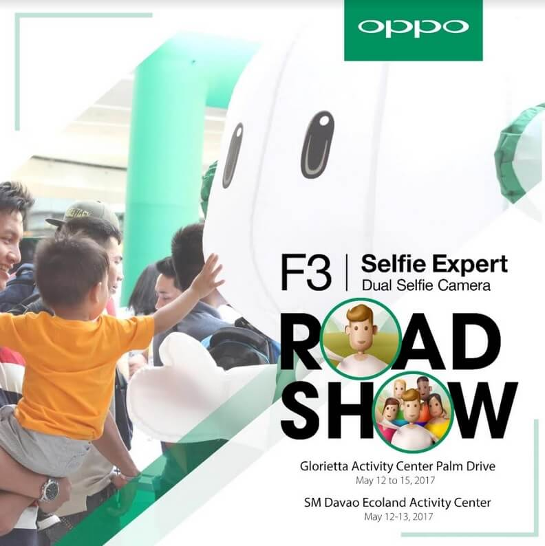 OPPO F3 Goes On Road Show; Brings Groufie Fashion Makeover