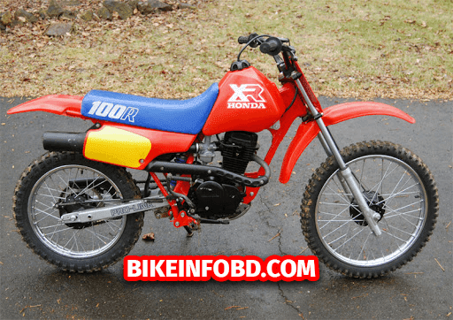 honda xr100 weight limit