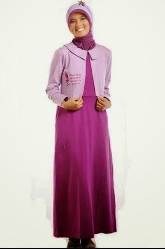 Gambar baju muslim minimalis modern
