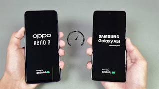 Oppo Reno 3 Vs Samsung Galaxy A51