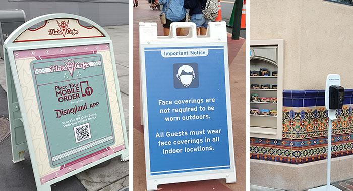 medidas de salud en Disneyland
