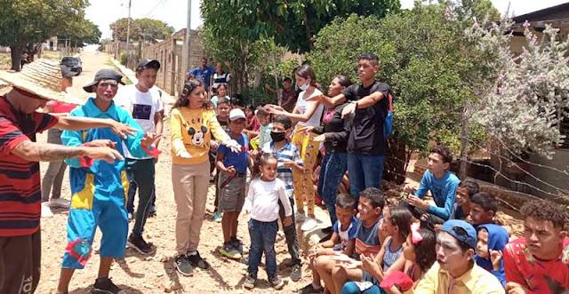 ALIMENTOS LA COROMOTO REALIZÓ JORNADA INTEGRAL COMUNITARIA EN CANTACLARO
