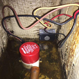 install electronic bilge switch