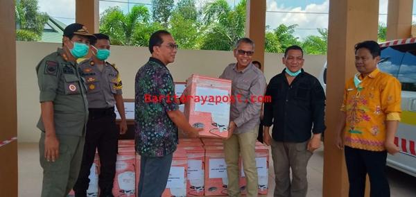 Best Agro Salurkan Batuan Sprayer Ke Posko Siaga Covid-19