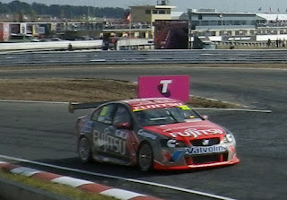 FUJITSU SPONSORED CAR