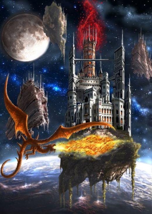 Krunoslav Kreculj Kole artstation arte ilustrações photoshop fantasia ficção