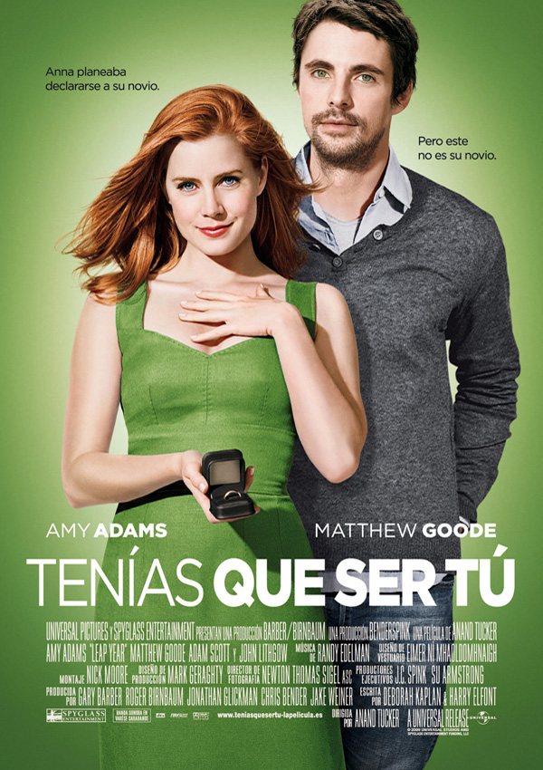 Póster: Tenías que ser tú: Leap Year (Anand Tucker, 2.010)