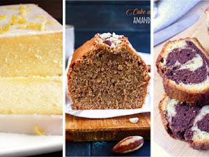 Les 18 meilleures recettes de cakes