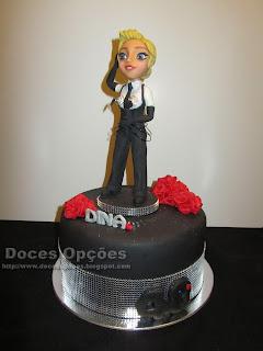 A Madonna no aniversário da Dina