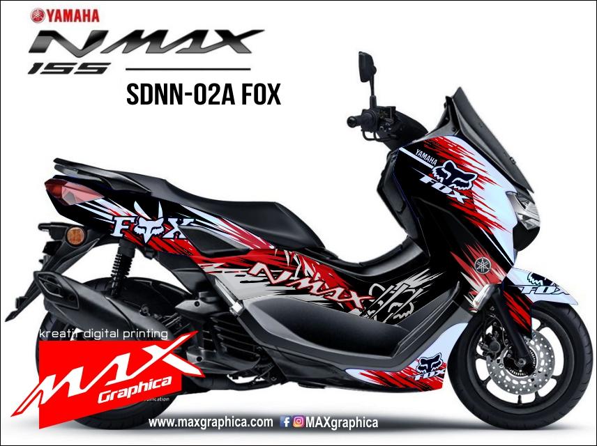 sticker decal all new nmax 2020 fox