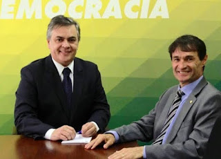 Cássio e Romero entram em cena e articulam apoios para Nilvan Ferreira, em João Pessoa; Luciano Cartaxo é consultado
