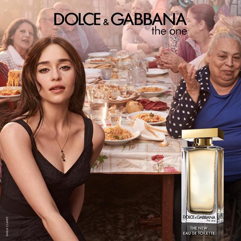 Emilia Clarke stars in Dolce & Gabbana 'The One' Eau de Toilette campaign