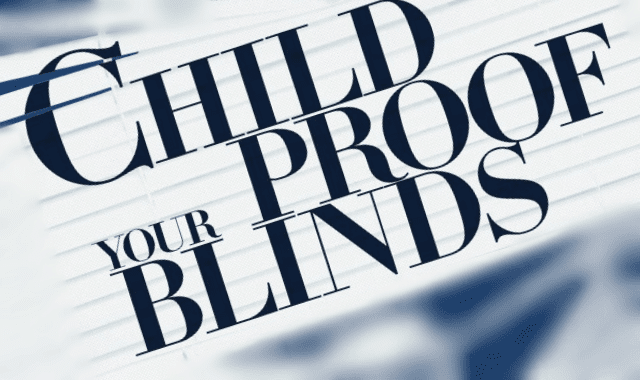 Childproof Your Blinds