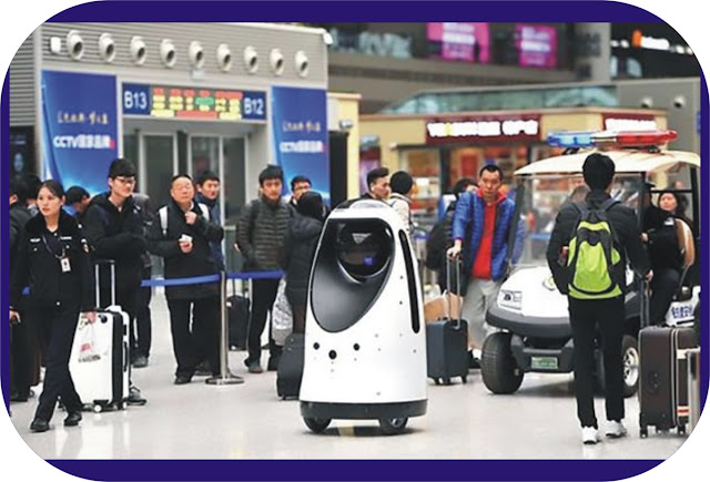 Chinese Robot Police Officer