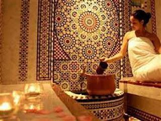 Nhà tắm dành cho nữ giới ở Ma-rốc