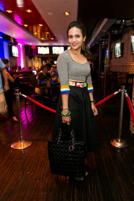 Blogger Scene, DC, Crop Top, Cotton Skirt, Tanvii.com