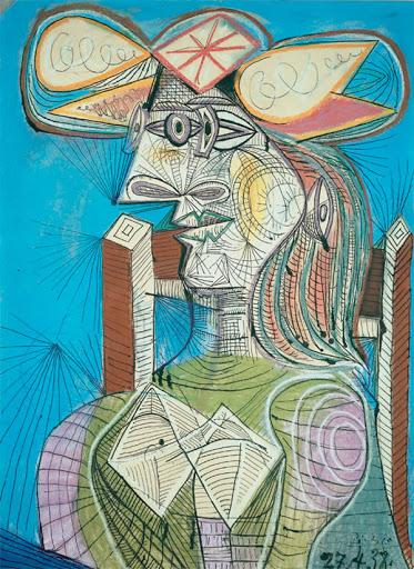 Пикассо и бумага: гений рисования, который любил скрап 3