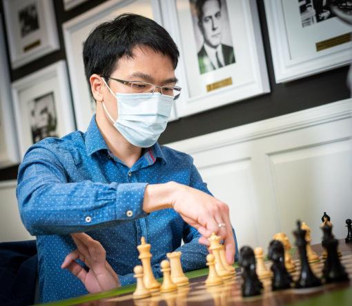 Le grand-maître d'échecs vietnamien Liem Le - Photo © Grand Chess Tour