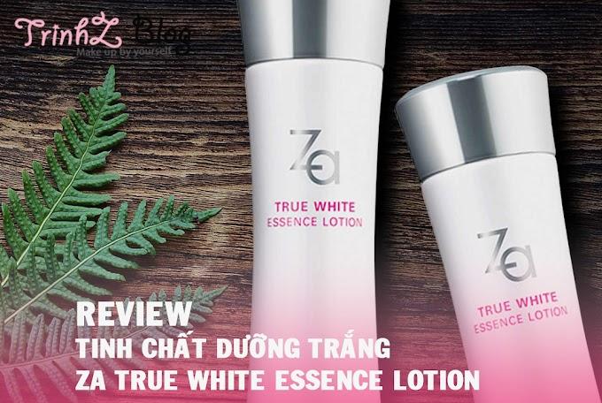 [REVIEW] Tinh chất dưỡng ẩm làm trắng Za True White EX Essence Lotion