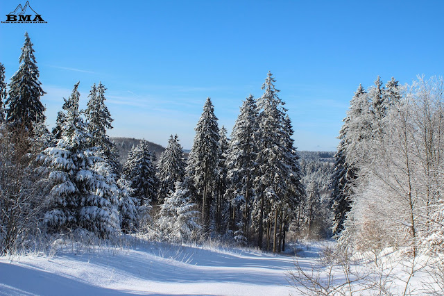 langlauf Vogelsberg - Wintersport Schotten - Best Mountain Artists - Skifahren Hoherodskopf