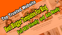 Top Trusted Website To Buy Best BloggerTemplates For Blog