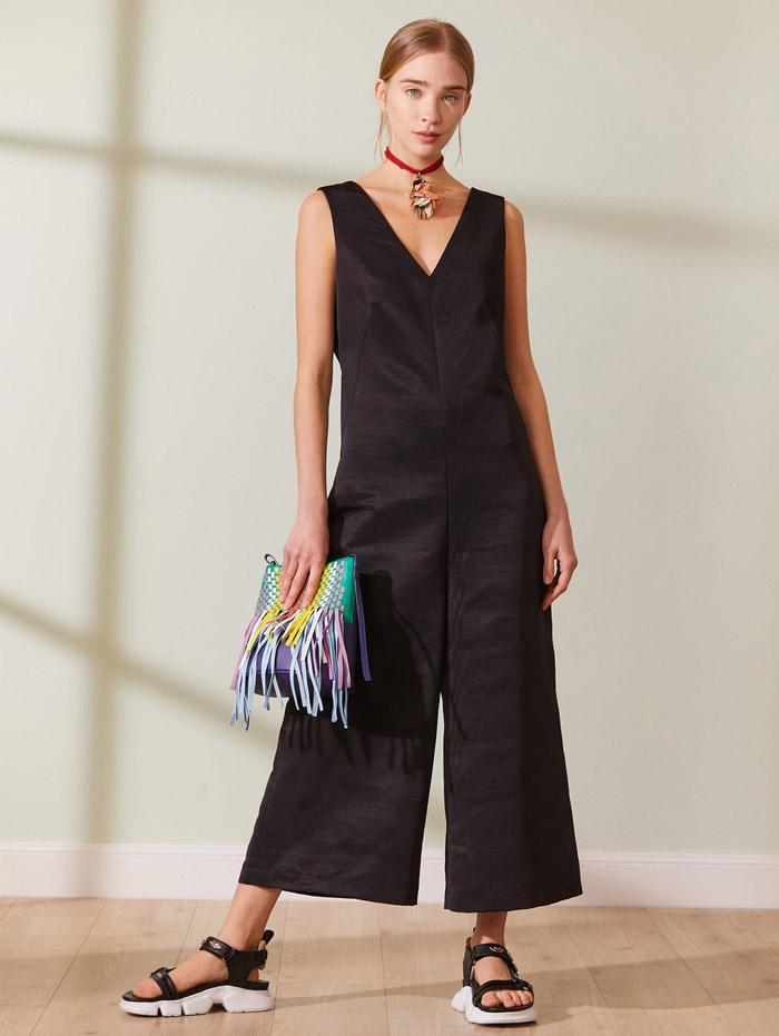 mono cropped ancho moda verano 2021