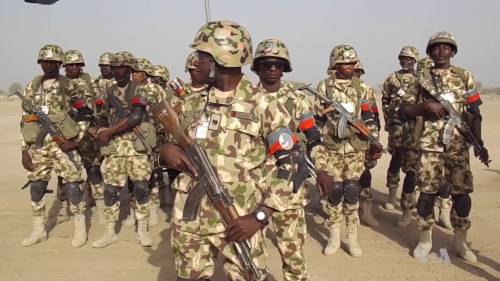 Nigerian Soldiers Kill 13 Boko Haram Terrorists In Bloody Clash #Arewapublisize