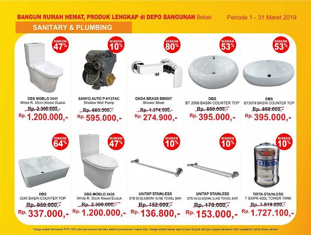 #DepoBangunan - #Promo #Katalog Bangun Rumah Hemat Khusus Bekasi (s.d 31 Maret 2019)