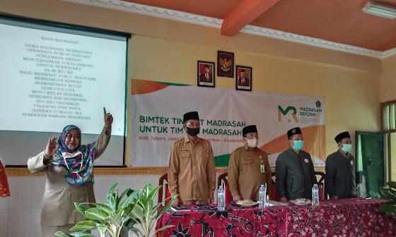 Bimtek Tingkat Madrasah Untuk Tim Inti Madrasah (TIM)