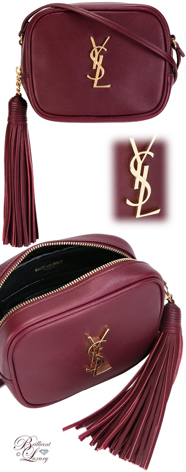 Brilliant Luxury ♦ Saint Laurent Monogram Blogger Crossbody Bag