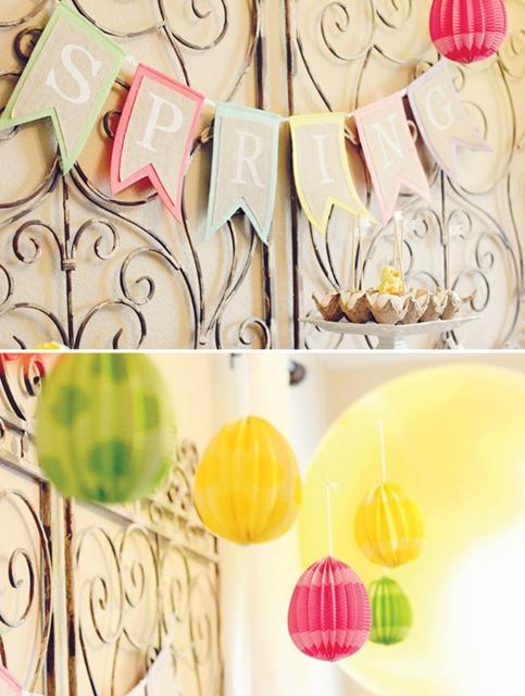 decoração páscoa