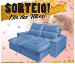 Promoção Alvorada Móveis Dia das Mães 2019 - Concorra Sofá Retrátil
