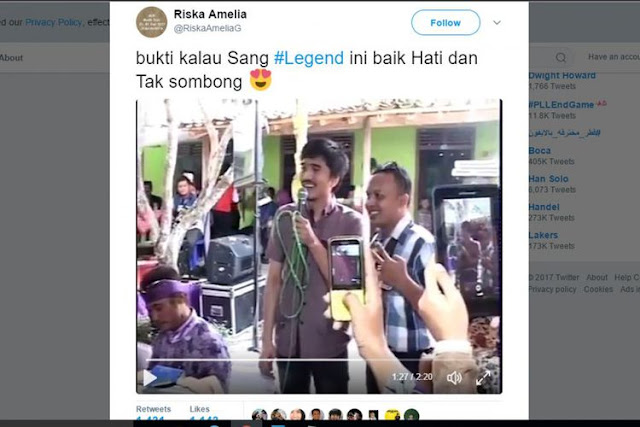 "Viral di Twitter, Video Duta ""So7"" Nyanyi di Kondangan Warga"