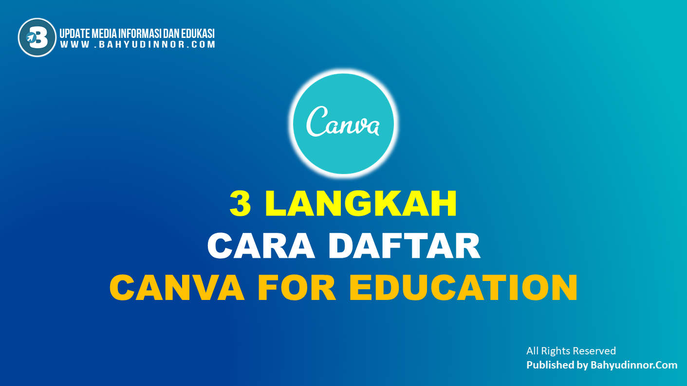 Register Canva for Education