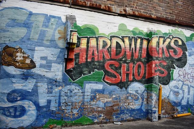 Burwood Street Art | Hardwick Shoes Mural