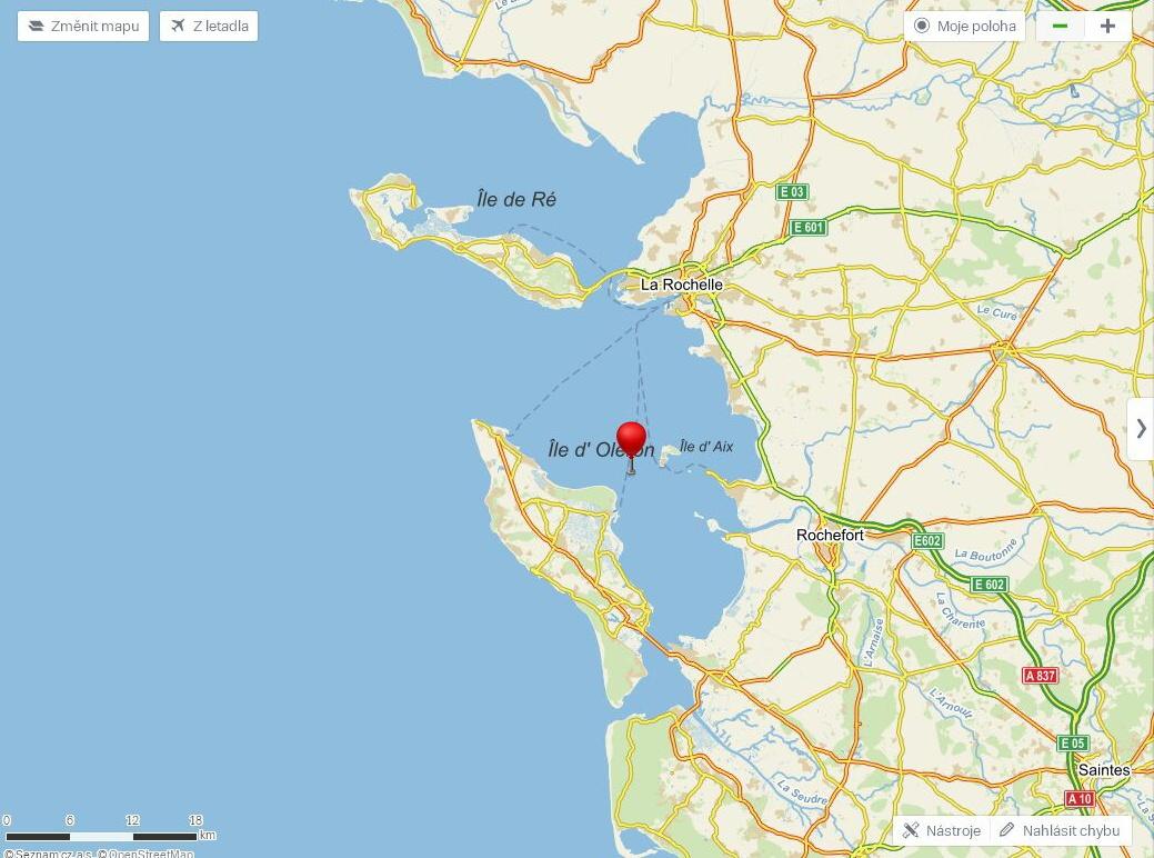 Mapa Pevnost Boyard Mapa
