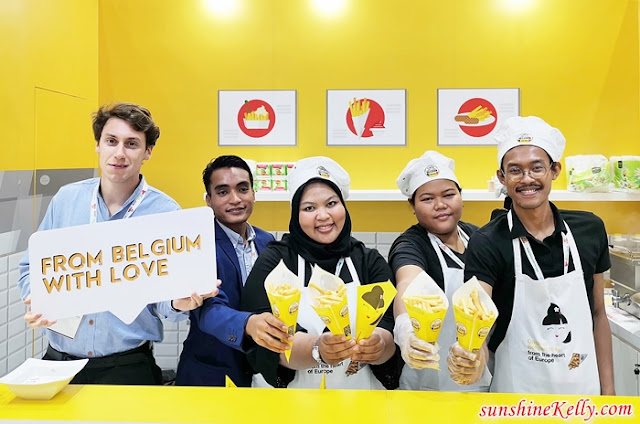 Belgian Fries, Belgian Fries Exporter in Malaysia, Original Belgian Fries, Fries, Agristo, Bart's Potato Company, Clarebout Potatoes, Ecofrost, Mydibel, Food & Hotel Malaysia Exhibition, Flanders Agricultural Marketing Board, KL Convention Centre, Food,