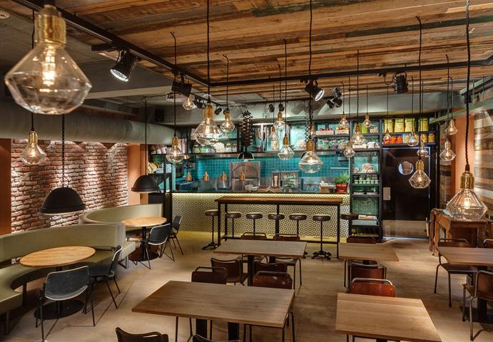 Desain Dapur Restoran Cept Saji