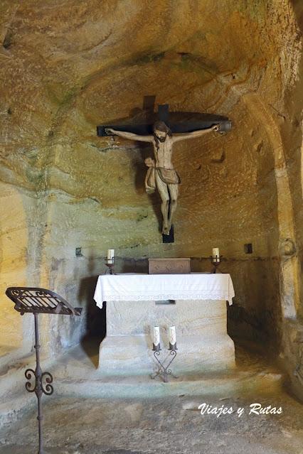 Altar de Cristo crucificado, Olleros de Pisuerga