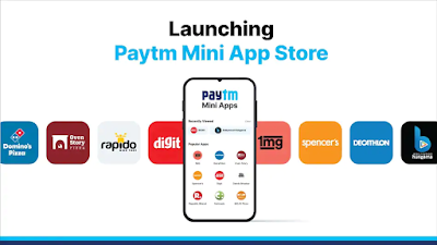 Launching of Paytm Mini App Store for Indian Developers: Exploring Over 300 Apps without Download