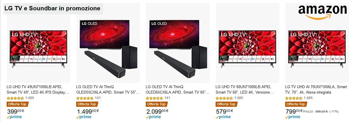 Offerta TV LG