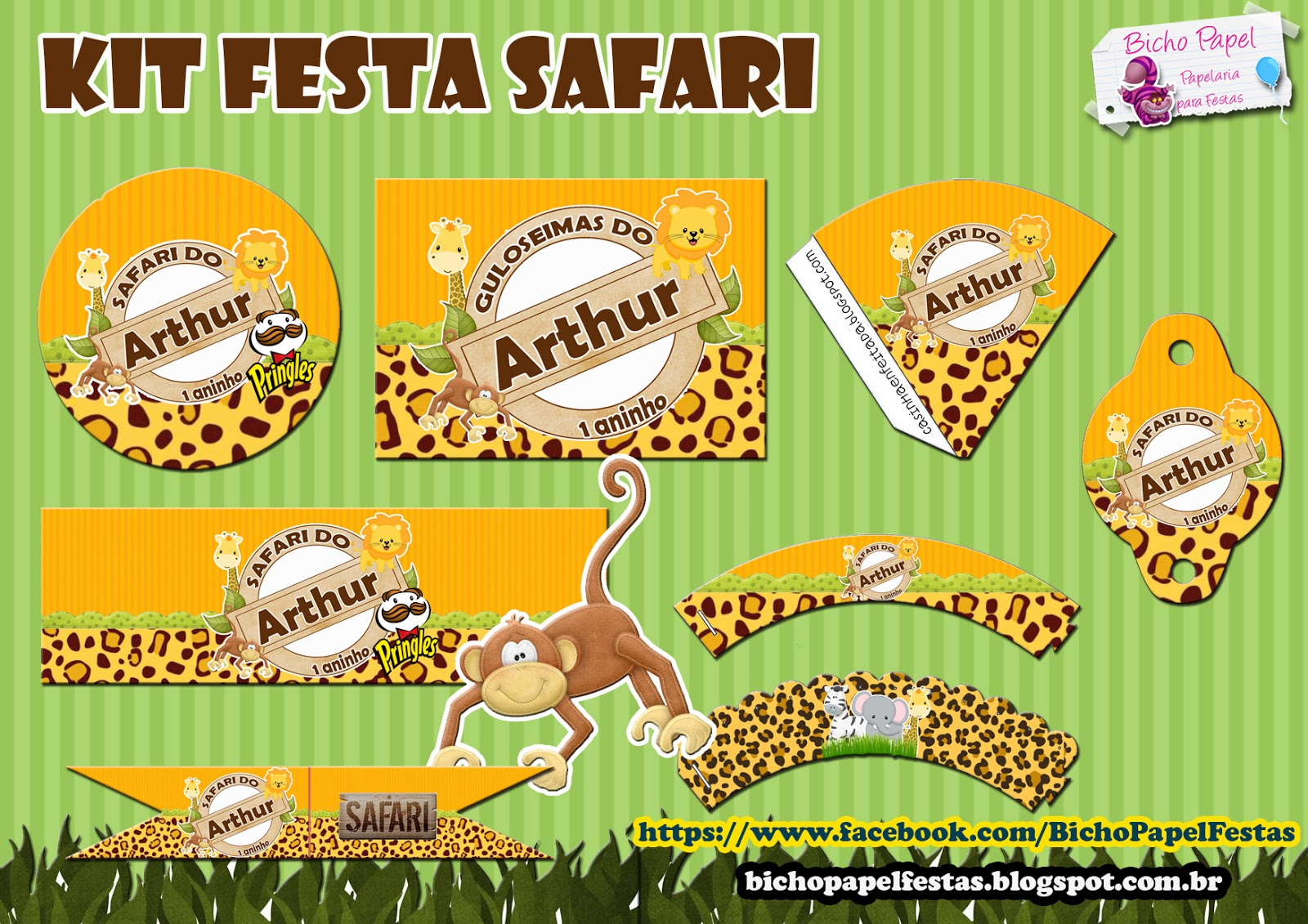 kit festa safari