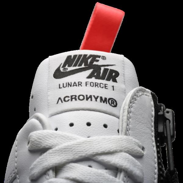 watch b8b48 cdd17 Nike Lunar Force 1 SP Acronym. White, White, Bright Crimson. 698699-116