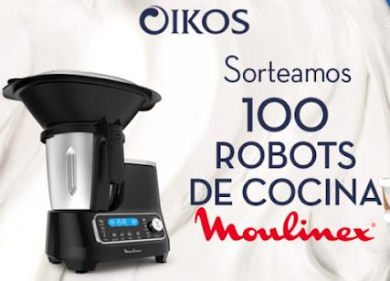 sorteo 100 robots cocina Moulinex