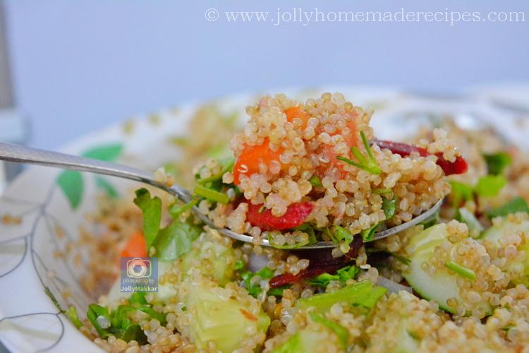 Easy Quinoa Tabbouleh Salad