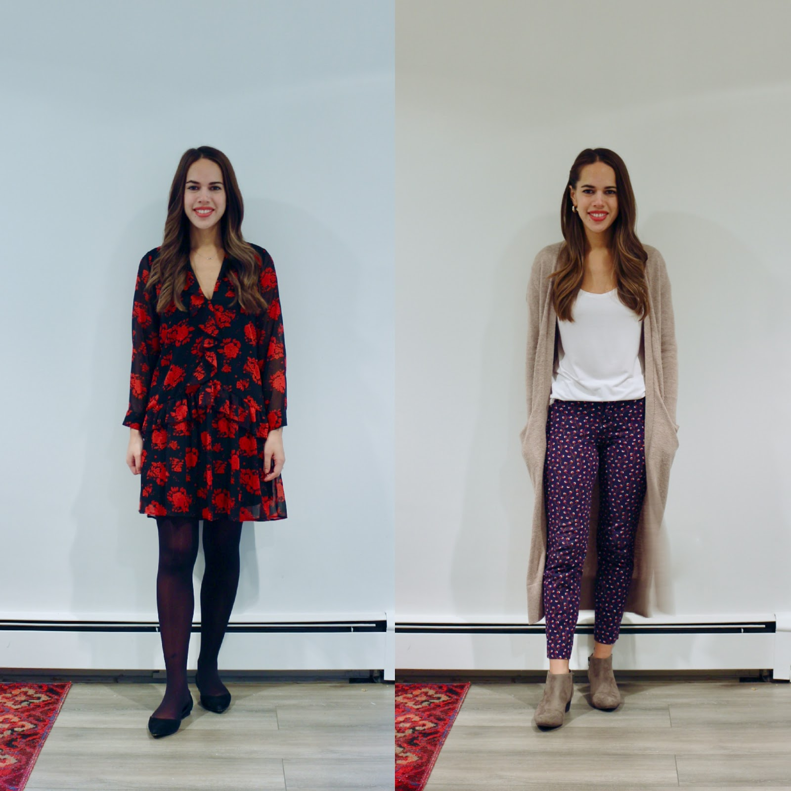Jules in Flats October Outfits (Business Casual Fall Workwear on a Budget)