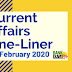 Current Affairs One-Liner: 9th February 2020