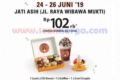 Jco Promo Grand Opening Ramayana Tanjung Pinang, Plaza Dumai, Jati Asih & Panukukang Makassar