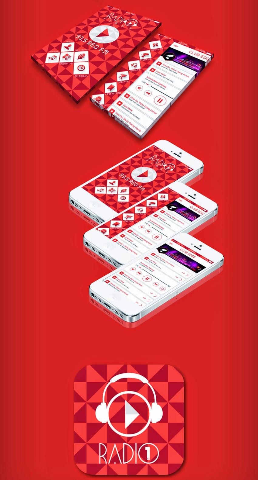 Radio IOS App UI