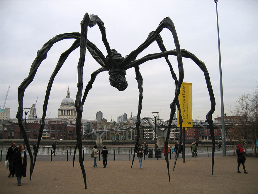 42 Of The Most Beautiful Sculptures In The World - Spider, Tate Modern, London, Uk